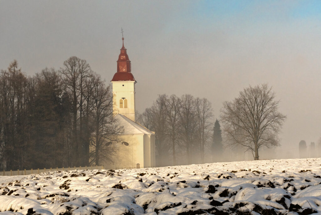 Evanjelický kostol – Necpaly
